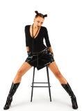 dziewczyna ciężki metal Zdjęcia Royalty Free
