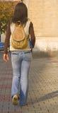 dziewczyna college ' u zdjęcie stock