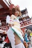 dziewczyna cosplay japończyk Zdjęcie Stock