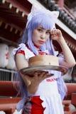 dziewczyna cosplay japończyk Fotografia Stock