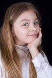 dziewczyna czas szczęśliwy mały zdjęcia royalty free