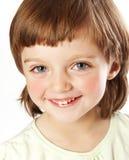 dziewczyna cztery rok szczęśliwego małego starego Zdjęcia Stock