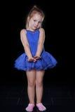 Dziewczyna dancingowy balet Obrazy Stock