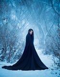 Dziewczyna demon chodzi samotnie Zdjęcie Royalty Free