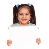 dziewczyna deskowy biel obrazy stock