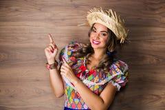 Dziewczyna dla Czerwa festiwalu Zdjęcie Stock