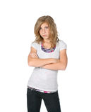dziewczyna dokuczająca Zdjęcia Stock