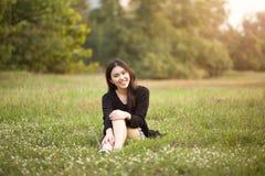 dziewczyna dosyć tajlandzka Fotografia Royalty Free