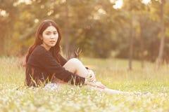 dziewczyna dosyć tajlandzka Obrazy Stock