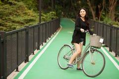 dziewczyna dosyć tajlandzka Obrazy Royalty Free