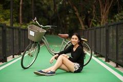 dziewczyna dosyć tajlandzka Zdjęcia Royalty Free