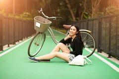 dziewczyna dosyć tajlandzka Obraz Royalty Free