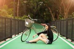 dziewczyna dosyć tajlandzka Zdjęcia Stock
