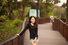 dziewczyna dosyć tajlandzka Obraz Stock