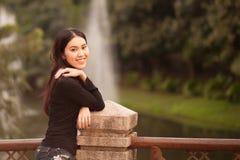 dziewczyna dosyć tajlandzka Zdjęcie Stock