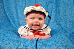 dziewczyna żeglarz Zdjęcie Royalty Free