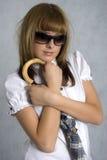 dziewczyna elegancka Fotografia Stock