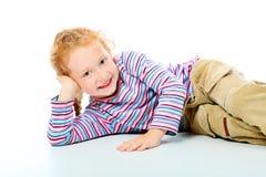 dziewczyna figlarnie zdjęcia stock