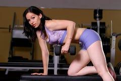 dziewczyna fizycznej fitness Fotografia Stock
