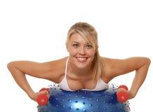 dziewczyna fizycznej fitness 2 Zdjęcia Stock