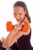 dziewczyna fizycznej fitness Zdjęcie Stock