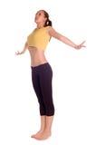 dziewczyna fizycznej fitness Obrazy Stock