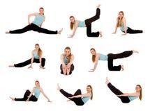 dziewczyna fizycznej fitness Obraz Stock