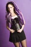 dziewczyna gothic Obraz Royalty Free