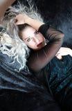 dziewczyna gothic Fotografia Royalty Free