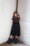 dziewczyna gothic Zdjęcia Stock
