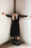 dziewczyna gothic Zdjęcia Royalty Free
