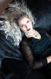 dziewczyna gothic Fotografia Stock