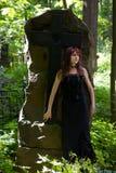 dziewczyna gothic Obrazy Stock