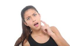 dziewczyna intrygująca Zdjęcia Stock
