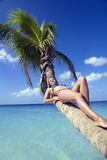 dziewczyna Jamaica plażowa Zdjęcie Stock