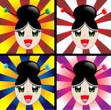 dziewczyna japończyk Obrazy Royalty Free