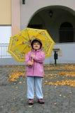 dziewczyna jesienią Obraz Royalty Free