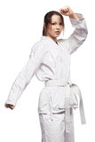 dziewczyna karate Fotografia Royalty Free