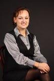 dziewczyna klasyczny portret s Zdjęcia Stock