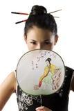dziewczyna klasyczny smokingowy japończyk Fotografia Stock