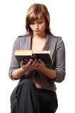 dziewczyna księgowa Zdjęcie Stock