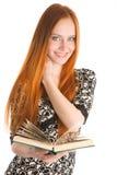dziewczyna księgowa Zdjęcia Stock