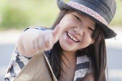 Dziewczyna lubi ciebie Zdjęcia Stock