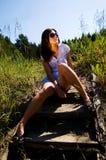 dziewczyna męcząca Zdjęcie Royalty Free