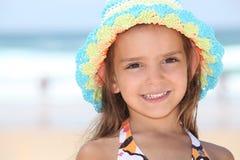 dziewczyna mały kapelusz zdjęcia stock