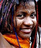 dziewczyna madagascan Zdjęcie Royalty Free