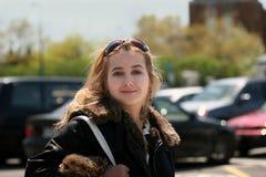 dziewczyna miasta fotografia royalty free