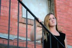 dziewczyna miastowa Zdjęcia Stock