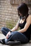 Dziewczyna miastowy portret Fotografia Stock