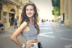dziewczyna modna obrazy stock